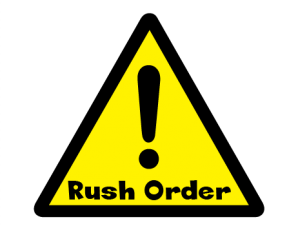 Rush Order ($50)