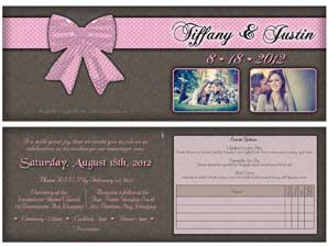 Tiffany  –  Folded Invite 1
