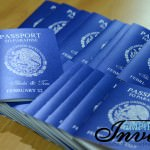 vibrant blue passport wedding invites to Hotel RIU vallarta (4)