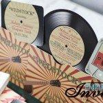 vintage record wedding invitations  (4)