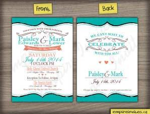 Wedding Invitation (#12)