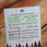 woodsy rustic wedding invitations (1)