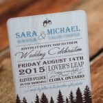 woodsy rustic wedding invitations (2)